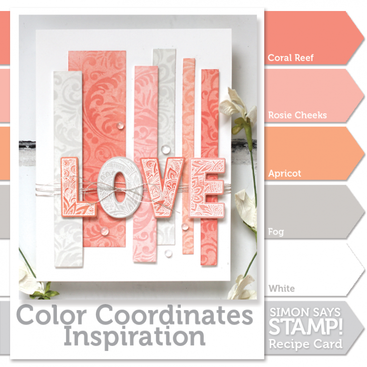 Shari Carroll, Color Coordinates, Pantone Coral