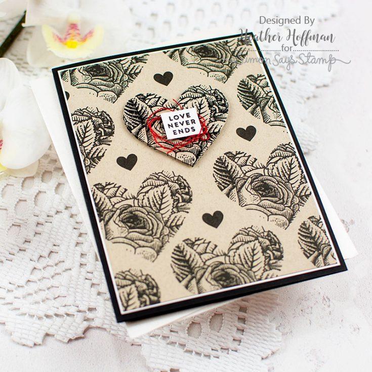 Heather Hoffman, February Card Kit