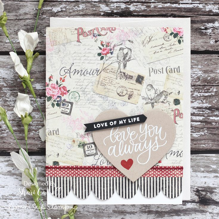 Shari Carroll, Love Always, February Card Kit
