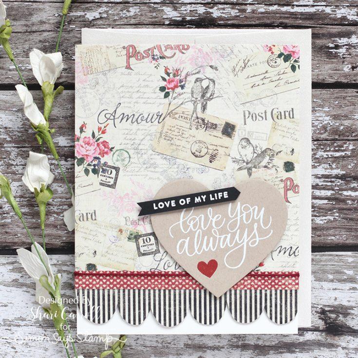 Shari Carroll, Love Always, February Card Kit