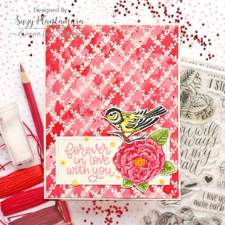Suzy Plantamura, February Card Kit