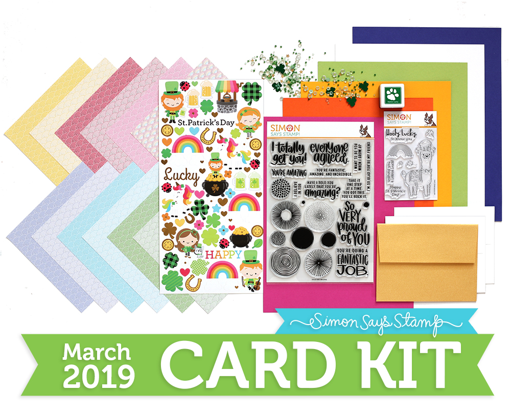 March 2019 Lucky Rainbow Card Kit