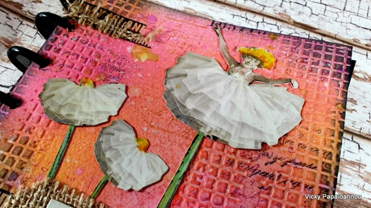Art Journaling by Vicky Papaioannou: Creativity Takes Time