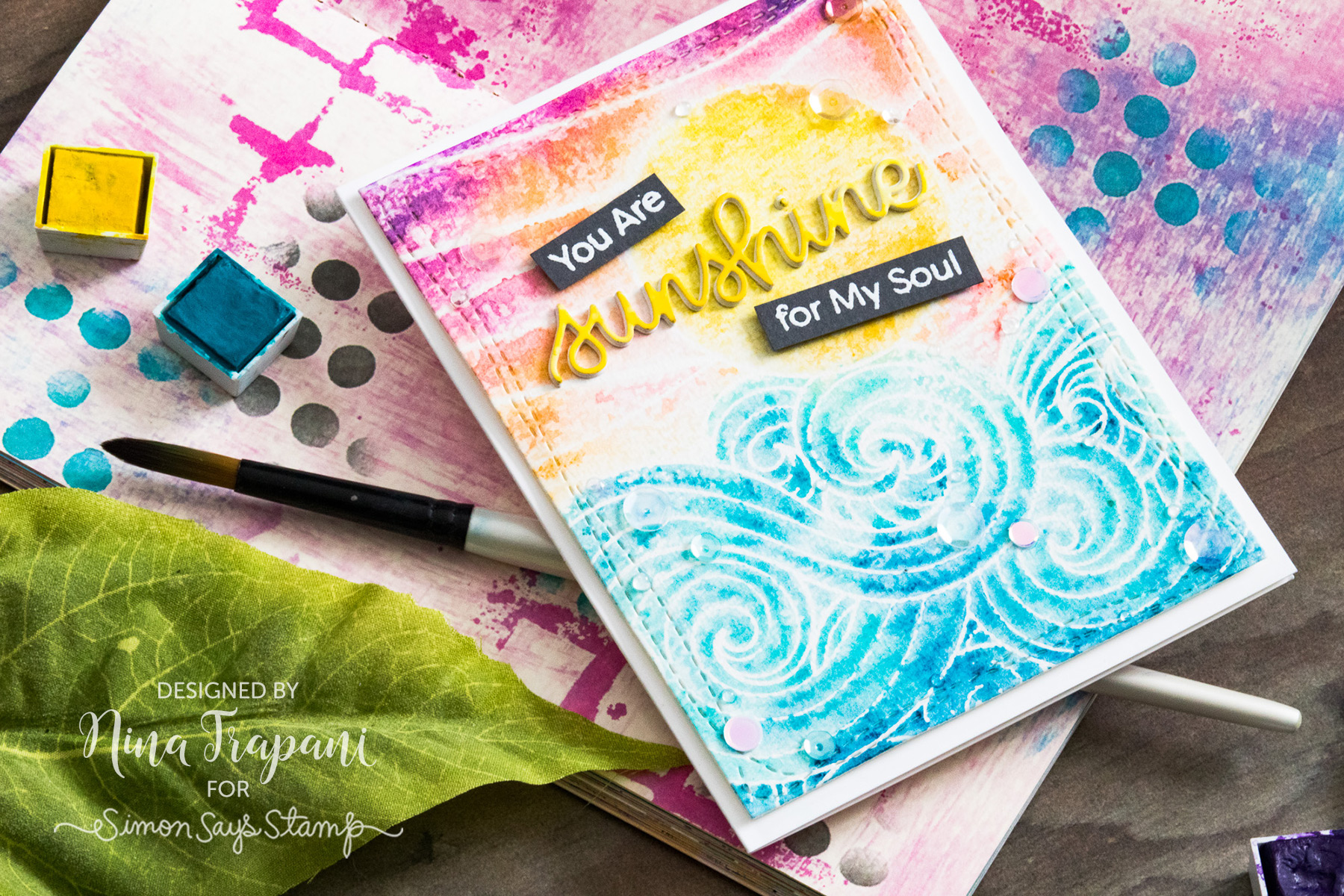 Background Stamping 3 Ways