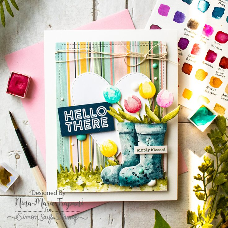 Nina-Marie, Hello Darling, April Card Kit