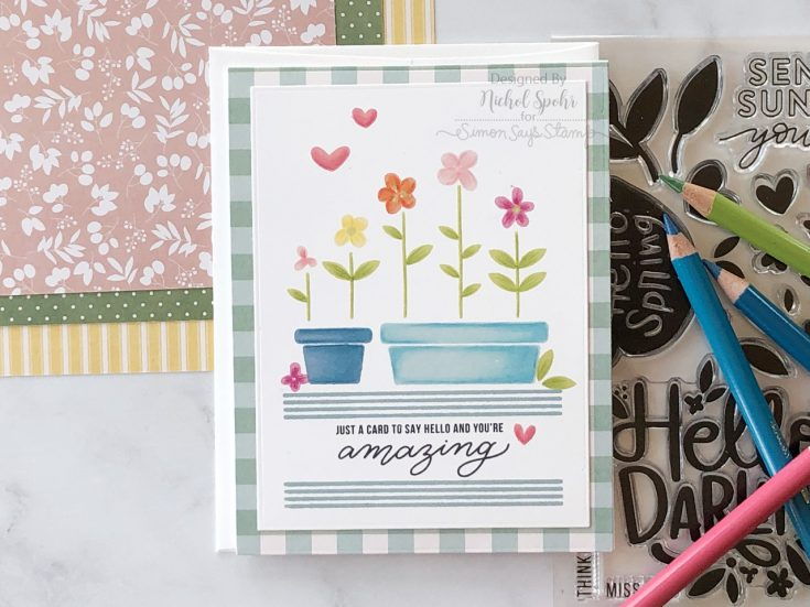April Card Kit Inspiration by Nichol Spohr