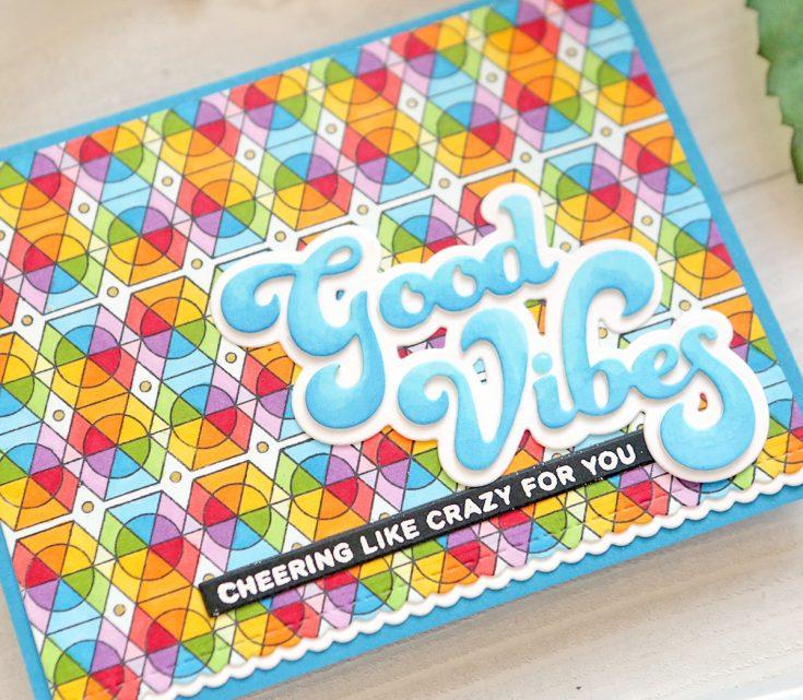 One Stamp, Five Ways: Geometric Patterns