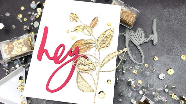 Interactive Cards by Jess: Multiple Shakers Shaker Card