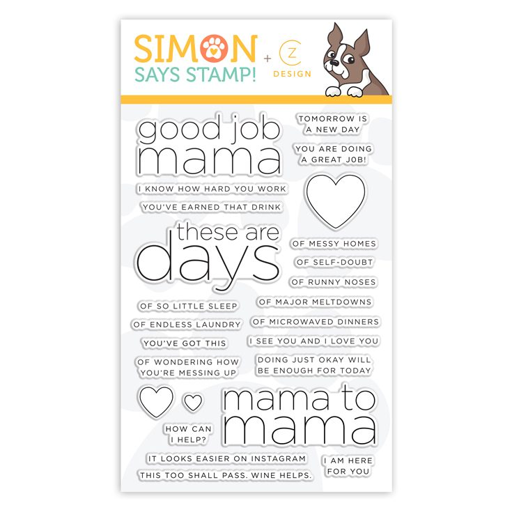 Good Job Mama stamp set