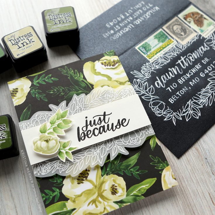 Blender Pen Coloring & Mail Art Lettering - June 2019 Card Kit
