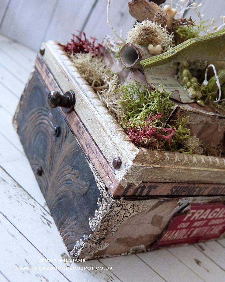 Prehistoric Home Decor Vignette Box