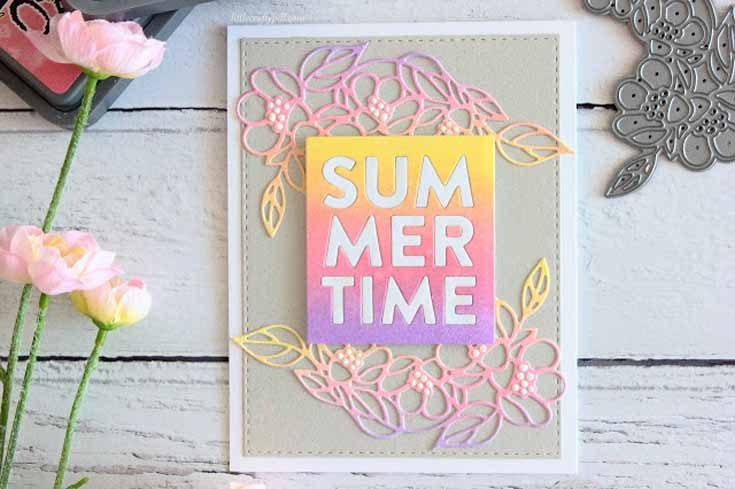 Amanda Korotkova Simon Says Stamp May 19 Throwback Thursday Summertime and Flower Cluster dies