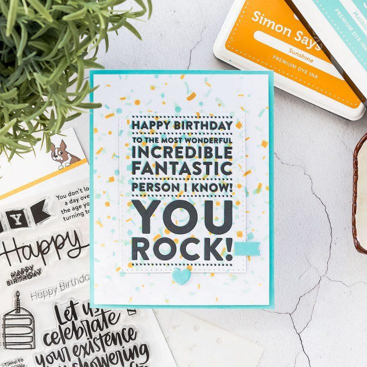 Yippee for Yana: Flip Up Birthday Card