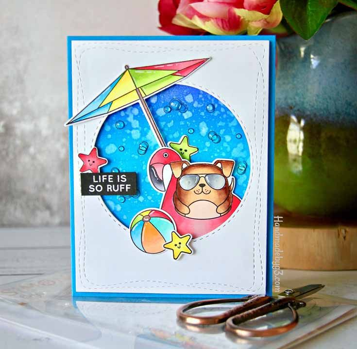 Gayatri Murali Simon Says Stamp June 2019 Throwback Thursday Summer Cuddly Critters stamp set and coordinating dies