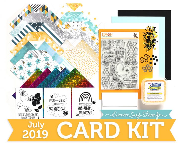 July 2019 Card Kit, Bee Yourself