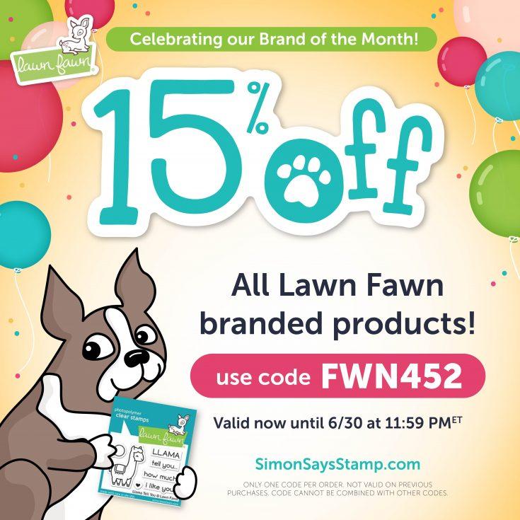 Lawn Fawn 15% off Sale