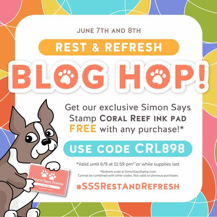 Rest and Refresh Release Blog Hop