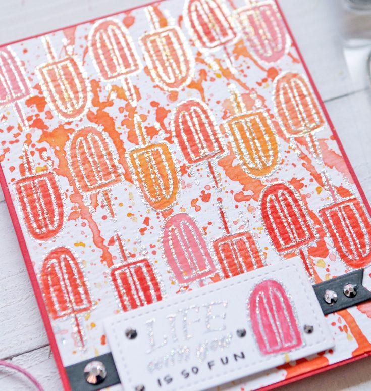 One Stamp Five Ways Summatime