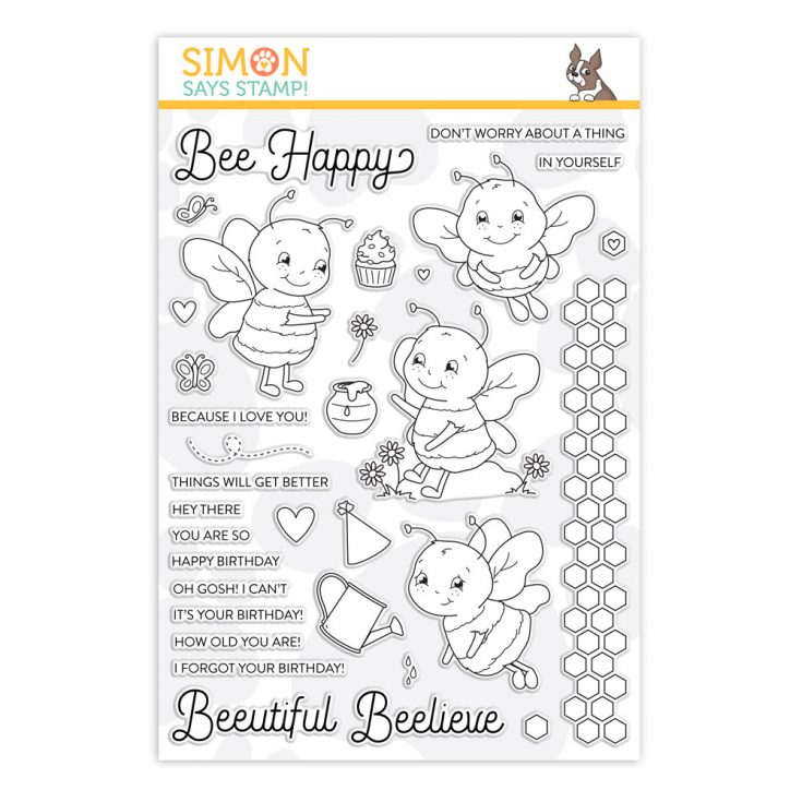 This image has an empty alt attribute; its file name is sss202019_BeeHappy_stamps_store-image-735x735.jpg