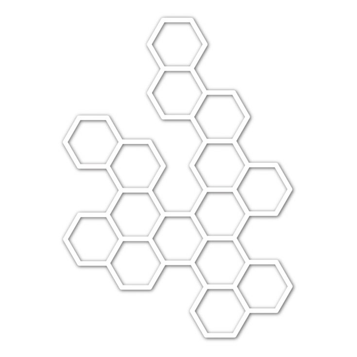 This image has an empty alt attribute; its file name is sssd111988_HexagonElement-735x735.jpg