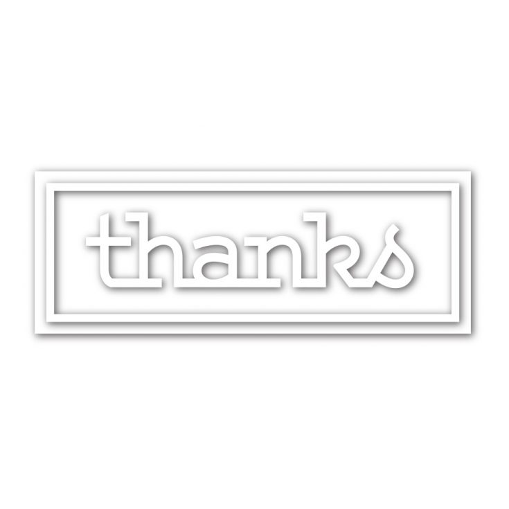 This image has an empty alt attribute; its file name is sssd111997_ThanksFrame-735x735.jpg