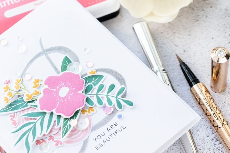 Yippee for Yana: Monogram Calligraphy Cards
