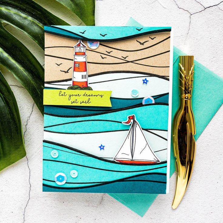 Yippee for Yana: Color with Paper Stamping