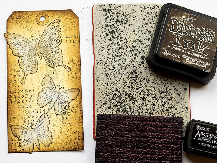 Butterfly Tag by Anna-Karin Evaldsson