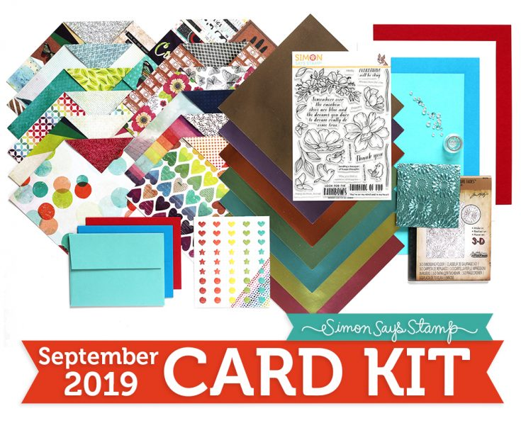 Look for the Rainbows, September Card Kit