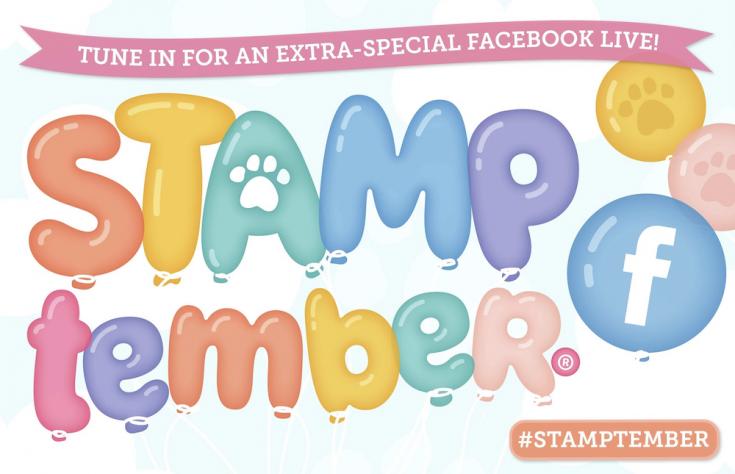 Stamptember Facebook Live