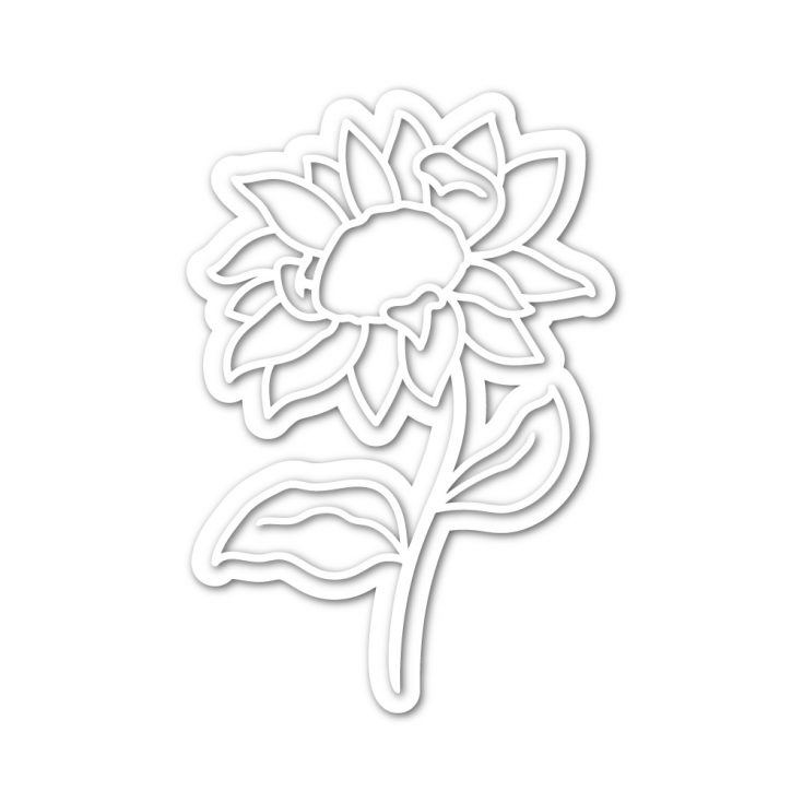This image has an empty alt attribute; its file name is sssd112009_SunflowerStem_die_storeimage-735x735.jpg
