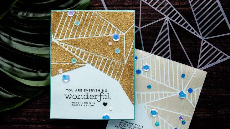 Yippee for Yana: Faceted Stencil