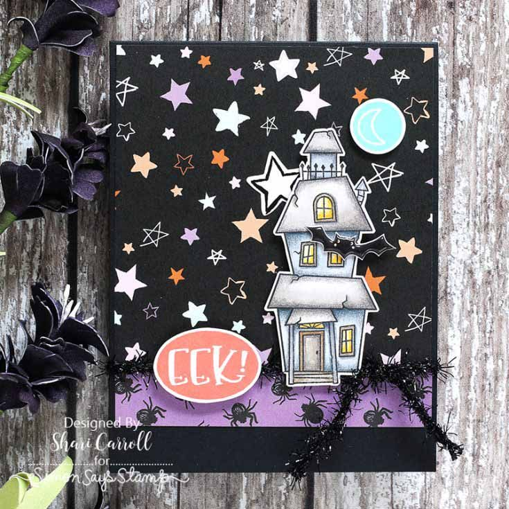 Shari Carroll Simon Says Stamp October 2019 Throwback Thursday Creepy Cute stamp set
