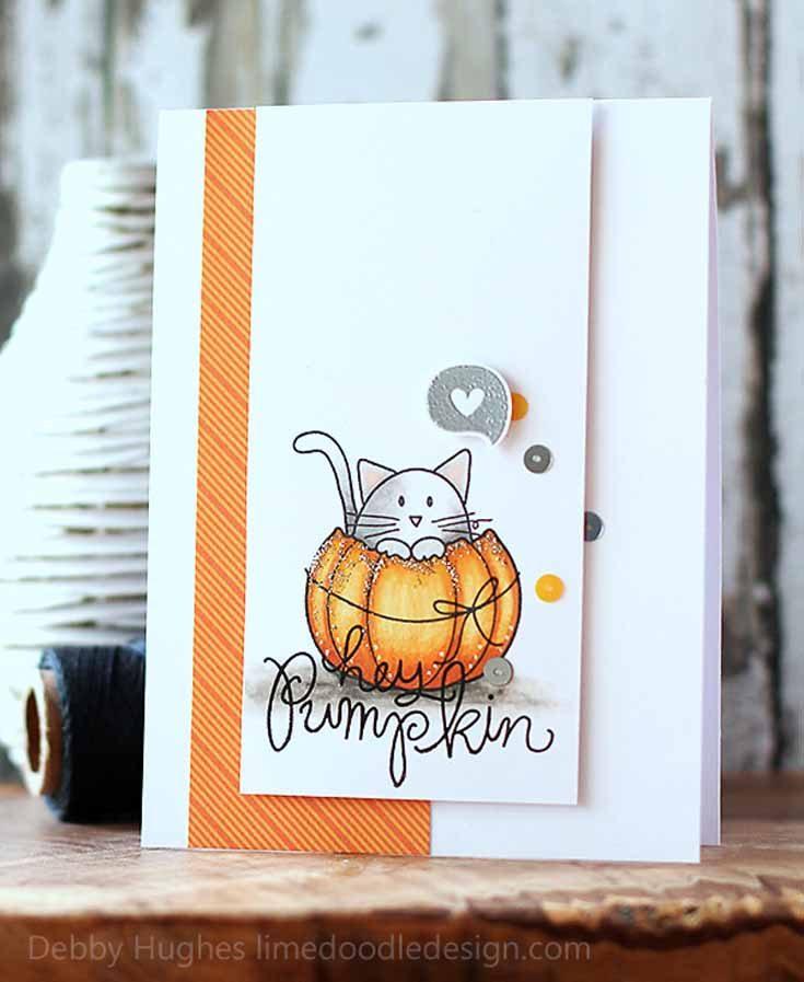 Debby Hughes Simon Says Stamp October 2019 Throwback Thursday Hey Pumpkin stamp set
