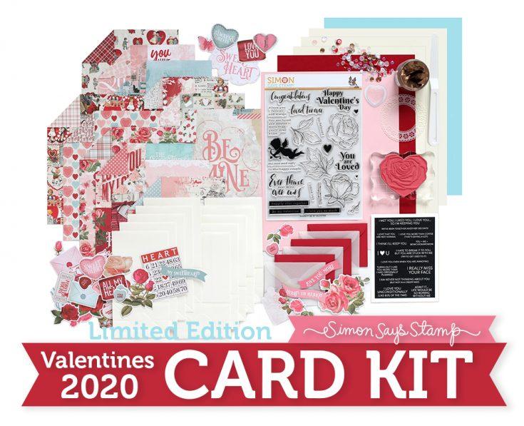 Card Kit Valentine Card KIT 6 Cards