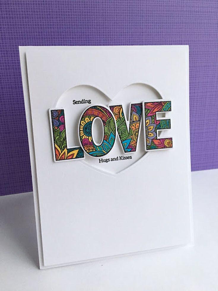 Lisa Addesa Simon Says Stamp January 2020 Throwback Thursday Ornate Love stamp set and coordinating dies