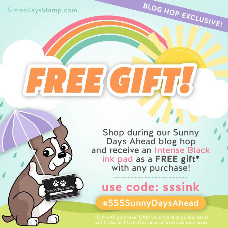 Sunny Days Ahead blog hop
