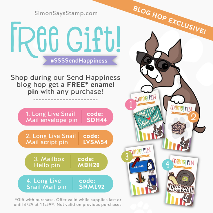 Send Happiness Blog Hop