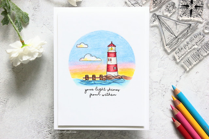 Amanda Korotkova Simon Says Stamp July 2020 Throwback Thursday Your Light stamp set