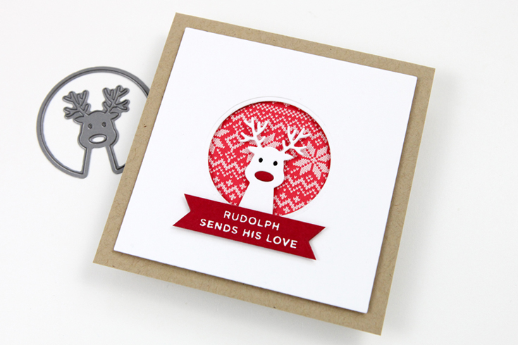 Cathy Zielske Simon Says Stamp August 2020 Throwback Thursday STAMPtember® Edition Ho Ho Deer die and Tabbed Sentiments Holiday stamp set