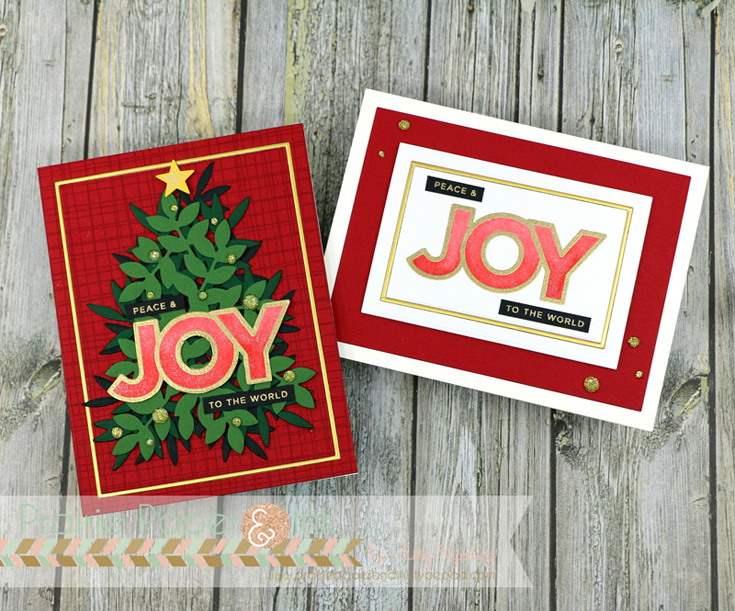 Amy Rysavy Simon Says Stamp World Card Making Day 2020 Chunky Christmas stamp set and Leafy Christmas Tree die