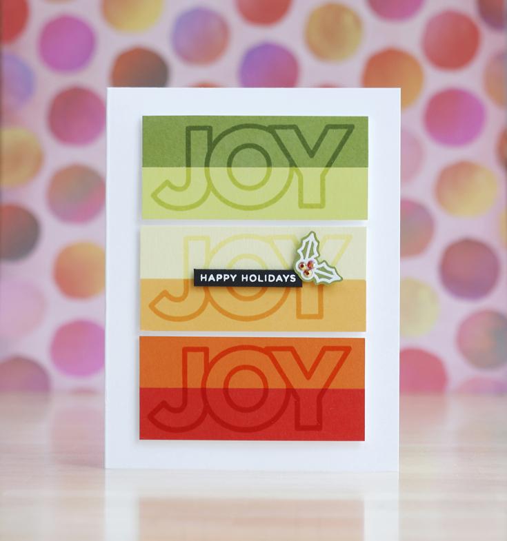 Laura Bassen Simon Says Stamp World Card Making Day 2020 Chunky Christmas stamp set