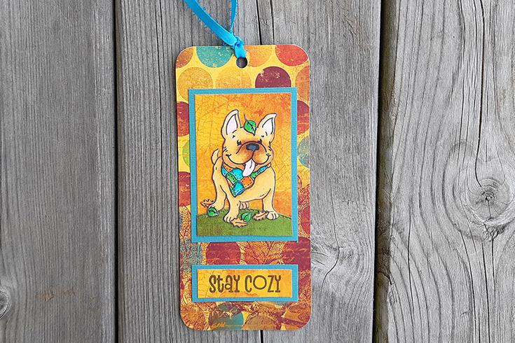 Susan Richter Simon Says Stamp October 2020 Throwback Thursday Fall Frenchies stamp set and Stitched Rectangles die
