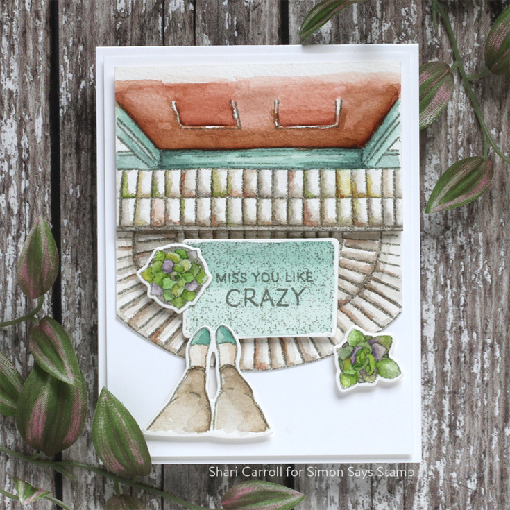 All the Feels Blog Hop Shari Carroll Front Porch and Front Porch Family stamps and dies